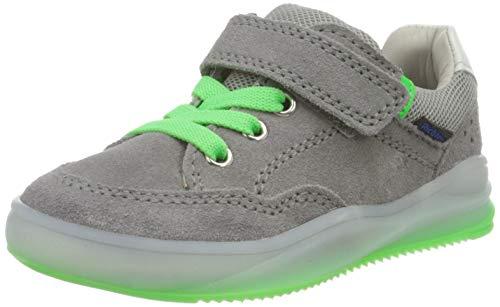 Richter Kinderschuhe Jungen HarryL Sneaker, Grau (Stone/Flint/N.Gre/Wh 6601), 28 EU