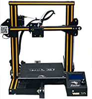 WOL3D UPGRADED Creality Ender 3 2021 Model, DIY 3D Printer with Resume function (Print size - 220X220X250 MM)
