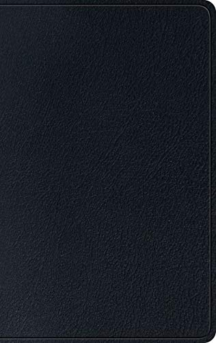 ESV Single Column Thinline Bible (Black)