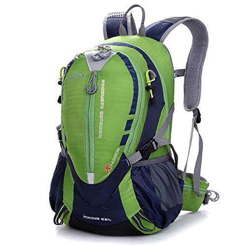 Waterproof nylon bicycle riding backpack outdoor sports bicycle bag road riding backpack hiking backpack - Green