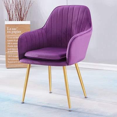 HMZJXZ Sillas de salón comedor silla de cocina muebles de maquillaje taburete silla de escritorio para sala de estudio sillas europeas decoración del hogar
