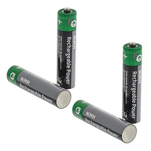 Systafex 4er Pack Wiederaufladbare Batterie Ersatzakku NIMH 700mAH Akku AAA für Telefon Gigaset C300 C430A C430 A630 S810 A540 A540A A415 E500 E500A A580 A585