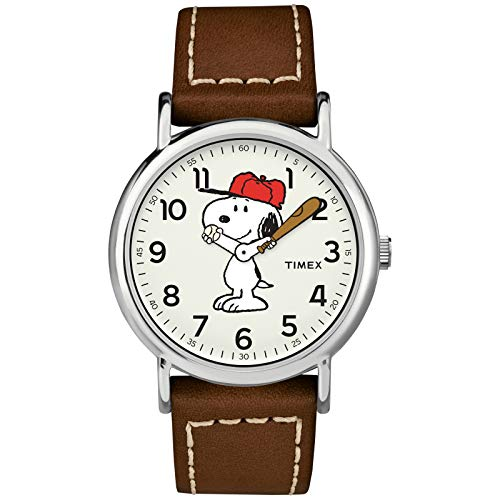 Timex Weekender Peanuts Collection, café/Snoopy
