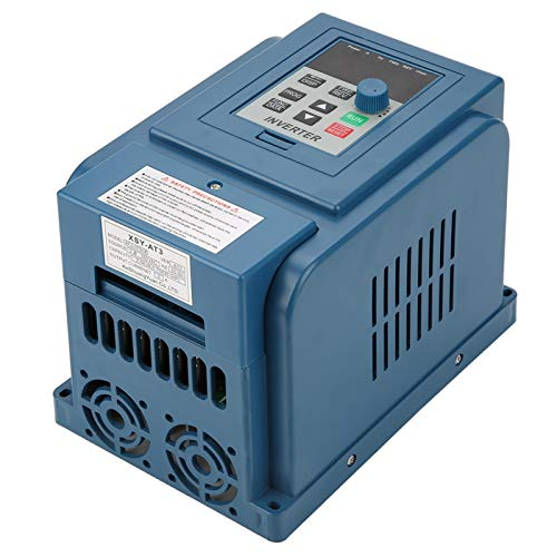Inverter Motor Drive, Variable Frequency Drive 3A High Accuracy for 3 Phase 0.75kW AC Motor