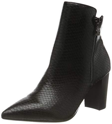 Buffalo Damen Maren Mode-Stiefel, Snake Black, 38 EU