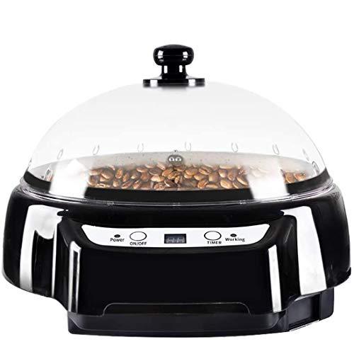 XXDMZ Coffee Roaster for Home Small Timing Peanut Melon Seeds Baking Machine Bake Maker Popcorn Machine Coffee Beans,Black