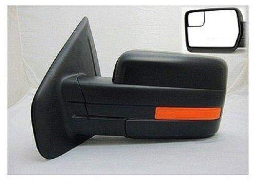 Go-Parts - for 2011 - 2014 Ford F-150 Side View Mirror Assembly / Cover / Glass - Left (Driver) Side BL3Z 17683 HAPTM FO1320404 Replacement 2012 2013