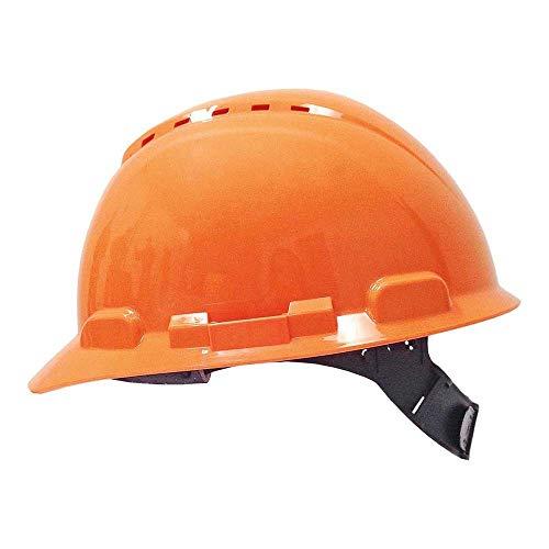 3M H700COR - H700 Casco con ventilación, naranja, arnés estándar