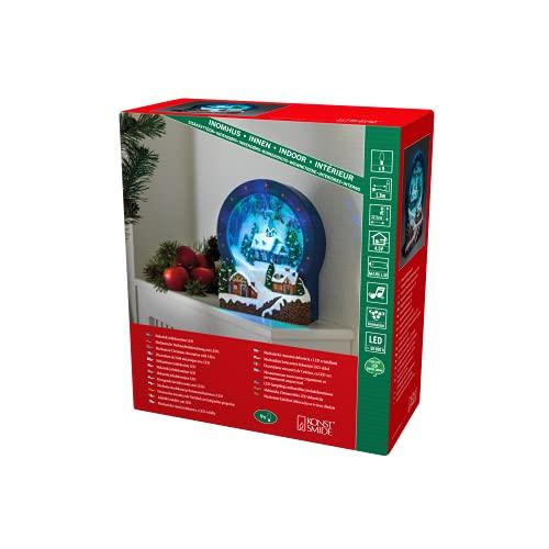 Konstsmide 3438 000LED Con Animazione E 8Canzoni Tradizionali Di Natale/Per Interni (Ip20)