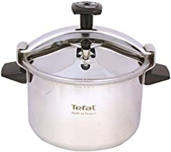 Tefal Pressure Cooker Ss 10Lt, P0531634, Stainless Steel, Multi Color