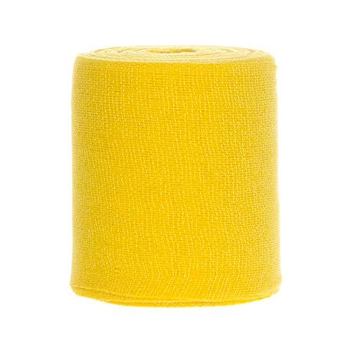 1 x Nobahaft fein Untertape Fixierbinde Haftbinde 20 m x 10 cm gelb