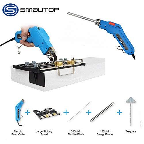 S SMAUTOP Elektrisches Styroporschneidegerät 220V 150W Schaumstoffschneider Heat Wire Grooving Schneidwerkzeug Zum Schneiden von Schwammisolation KT Board