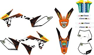 KTM Factory World Enduro Graphics KIT EXC XCW 250 300 350 2012 2013 77508190400