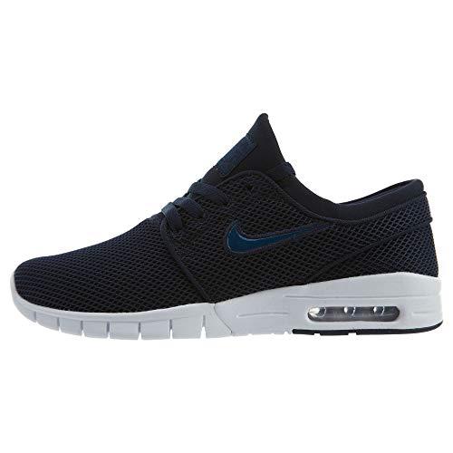 Nike Stefan Janoski MAX Mens Fashion-Sneakers 631303-406_12 - Obsidian/Blue Force-White-White