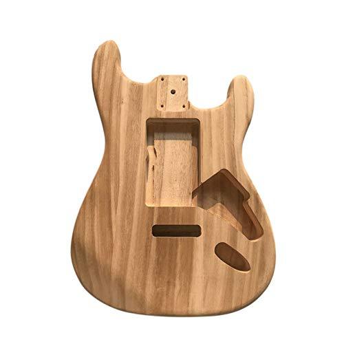 Guitarra de bricolaje para adultos para principiantes infantiles Guitarra eléctrica de cuerpo...