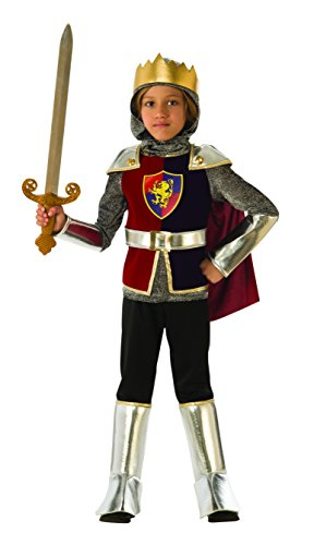 Medieval Rubie's Costume Cavaliere Reale Bambini (641138-M), Multicolore, 5-7años, 641138-S