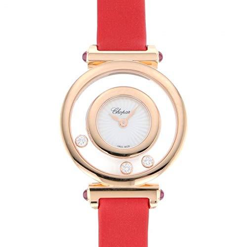 ショパール Chopard ハッピーダイヤモンド アイコン ウォッチ 204780-5201 ホワイト文字盤 腕時計 レディース (W209406) [並行輸入品]