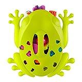 TOMY BOON - Rangement Jouet de Bain Frog Pod B10087, Jouet de Bain en Forme de Grenouille, Bac de Rangement pour Jouets de Bain Bébé, Égouttoir Vert