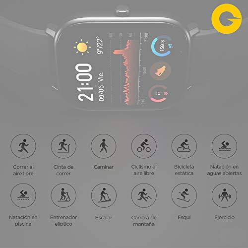 Amazfit GTS Reloj Smartwactch Deportivo | 14 días Batería | GPS+Glonass | Sensor...