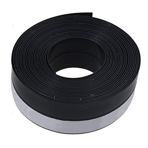 RDEXP Dichtungsband für Garagentor, 5 m Länge, schwarz, Gummidichtungsstreifen für Schiebetüren, Schiebetüren.