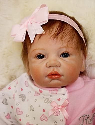 MAIHAO Muñecas Reborn bebé Niñas Silicona Muñecos Bebes Nino Toddler Baby Dolls Originales Girls 55 Cm
