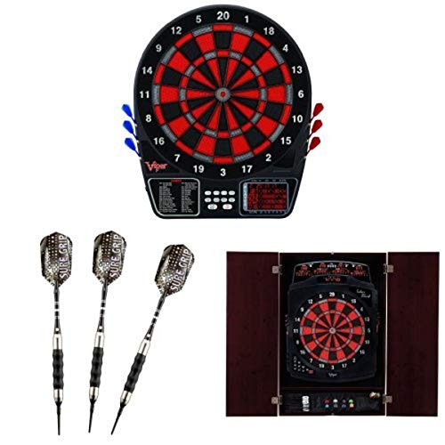 Amazing Deal Viper 797 Electronic Dartboard with Soft-Tip Darts and Cabinet Bundle