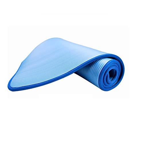 Xin Hai Yuan Esterilla De Yoga Esterilla De Yoga Gruesa Y Duradera Antideslizante Deportes Fitness Estera Antideslizante para Perder Peso Pilates Yoga Mat Sport, 183 * 61 * 1CM,Azul