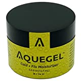 Aquegel Cold & Flu Nasal Moisturizer + Zinc, 12-Hour Zinc Absorption, Zinc Cold Therapy, Cold & Flu Protection, Virus Protection, Reduce Onset & Severity of Cold & Flu, Virus Resistance, Dry Nose