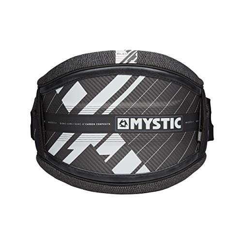 Mystic Majestic X HÜFT Kite TRAPEZ Black ~ Harness GR. S + Spreader CLICKERBAR