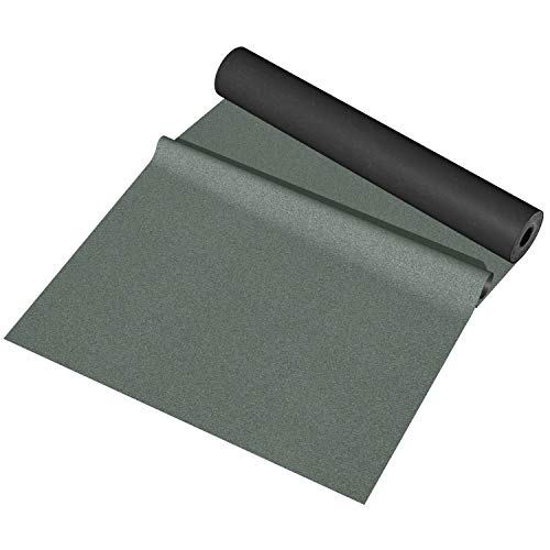BillyOh Green mineral shed roofing felt - 5m x 1m roll with fixings included