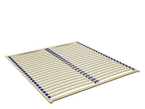 Lattenrost Easypack, Lattenrahmen geeignet für alle Matratzen, mit 23 Federleisten, Birkenholz, Bettrost (180 x 200 cm)