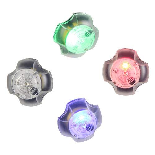element Airsoft - Auriculares de seguridad, IPX8, impermeables, luz estroboscópica, linterna táctica de base para exteriores, airsoft, caza, camping, color azul ID202