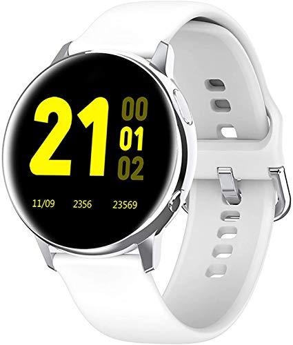 JIAJBG el Reloj de Manera Inteligente, Reloj Inteligente con la Presión Arterial, Monitor de Oxígeno en Sangre, Rastreador de Ejercicios con Monitor de Ritmo Cardíaco, Táctil Comple