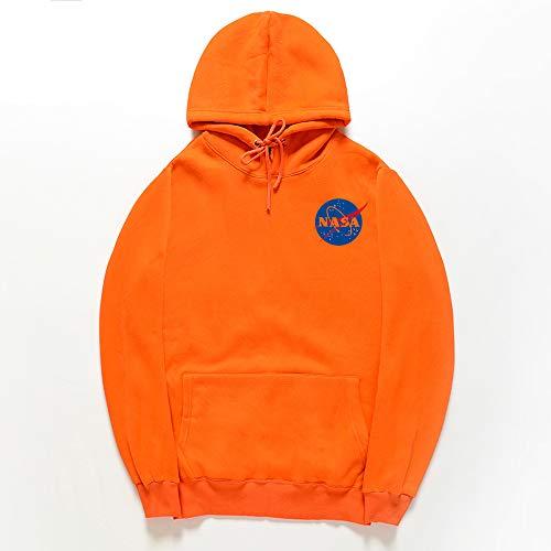 Hoodie NASA Letter Printing Mannen En Vrouwen Trui Casual Lange mouwen Lovers Sweatshirt