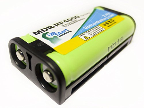 Replacement for Sony BP-HP550-11 Battery - Compatible with Sony BP-HP550-11 Headphone Battery - Compatible with Sony MDR-RF860 MDR-RF4000 MDR-RF970 MDR-RF970RK MDR-RF925 (700mAh 2.4V NI-MH)