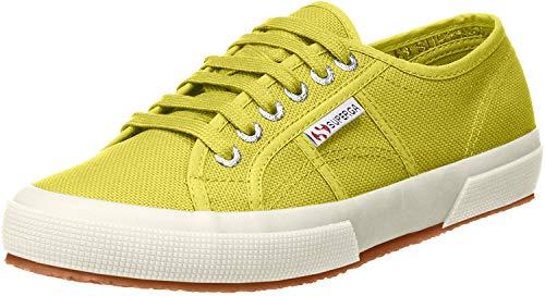 Superga Unisex-Erwachsene Classic Sneaker Low-Top 2750 Cotu Classic, Grün (Apfelgrün), 38 (Herstellergröße: 5)