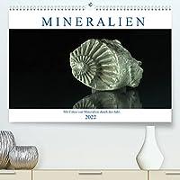 Mineralien (Premium, hochwertiger DIN A2 Wandkalender 2022, Kunstdruck in Hochglanz): Mit spanenden Mineralienfotos durch das Jahr (Monatskalender, 14 Seiten )