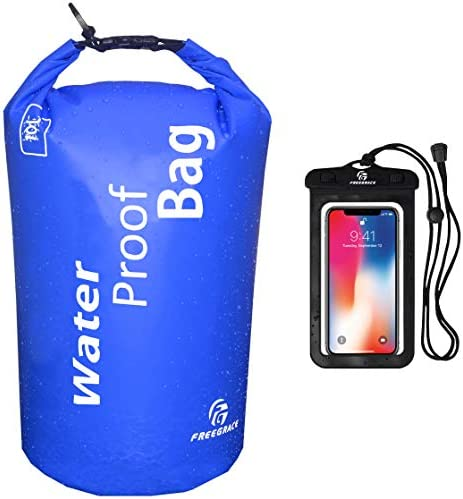 Freegrace Waterproof Dry Bag Lightweight Dry Sack with Seals and Waterproof Case Float on Water product image