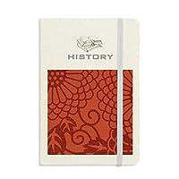 中国の日本語スタイルのアジアの花のパターン 歴史ノートクラシックジャーナル日記A 5