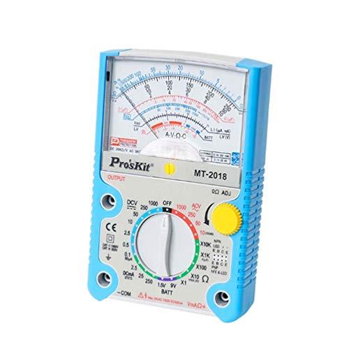 Maksoua Tester analógico detectar la falsificación de protección Transistor multímetro analógico Metros...