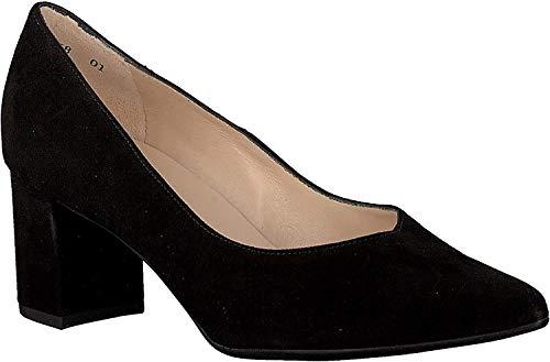 Peter Kaiser Damen Pumps NAJA, Frauen Klassische Pumps, Court-Shoes Absatzschuhe Abendschuhe stöckelschuhe Frauen weibliche,SCHWARZ,39.5 EU / 6 UK