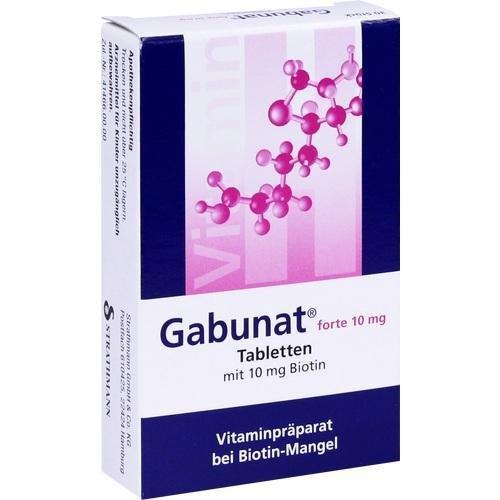 GABUNAT FORTE 10MG 30St Tabletten PZN:745214