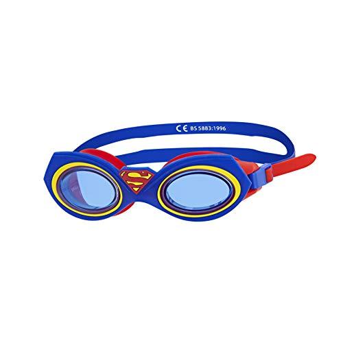 Zoggs Bambini di Superman Junior Character Goggle Occhialini da Nuoto, Blue, One size
