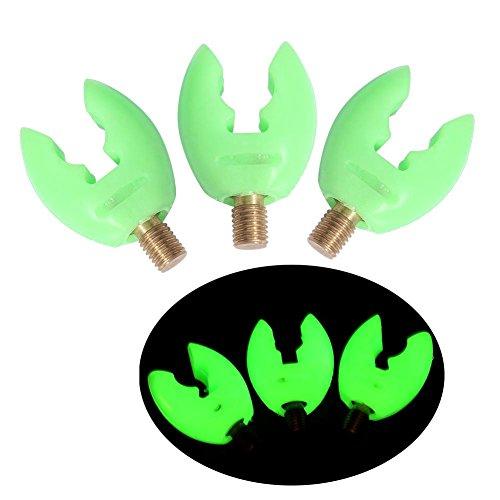 Vbestlife Stubby Rubber Butt Rests Zur Verwendung mit Rod Pods Angelrutenauflagen/Rückenauflagen Zum Greifen Ihrer Rute und zum sicheren Aufbewahren(Green)