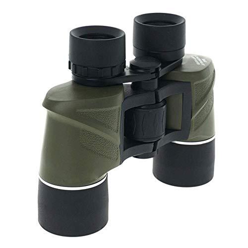 8X40 HD Hochleistungsteleskop Fernglas Army Green Leicht zu tragen , Voll mehrfach beschichtetes Jagdfischen Camping Wandern/Vogelbeobachtung Multifunktionsfernglas (Farbe: Army Green) Amateuran