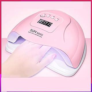 Lámpara LED para uñas de 100W, secador de uñas portátil/pedicura, duración: 30s 60s 99s, adecuada para uñas y uñas en hogares y salones