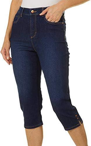 Gloria Vanderbilt Women s Petite Amanda Capri Jeans Madison 8 product image