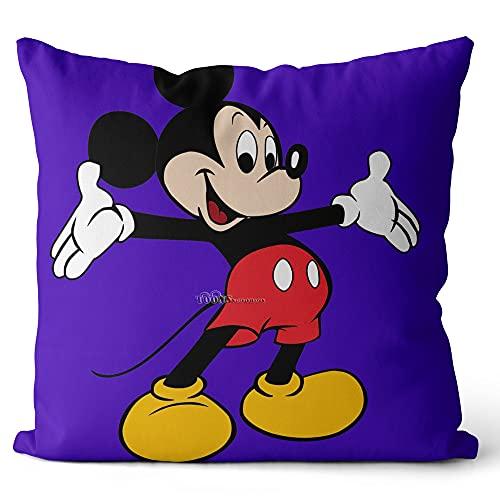 Funda de Almohada Impresa Disney Movie Pattern Fundas de Almohada Fundas de Almohada Fundas para sofá Dormitorio Living 40x40cm