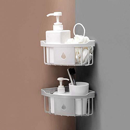 Why Choose Shelf 4 Pieces of Bathroom Plastic Material Bathroom Shower Kitchen Storage Rack Storage ...