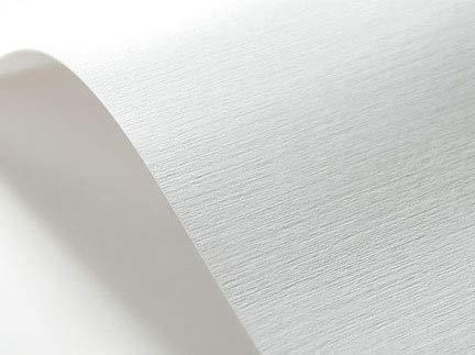 Netuno 20 x Weiß 246g Struktur-Karton leinen-geprägt, Präge-Karton DIN A4 210x297 mm, Elfenbeinkarton Ultraweiß, Bastel-Karton strukturiert, ideal für Visitenkarten, Einladungs-Karten, Urkunden